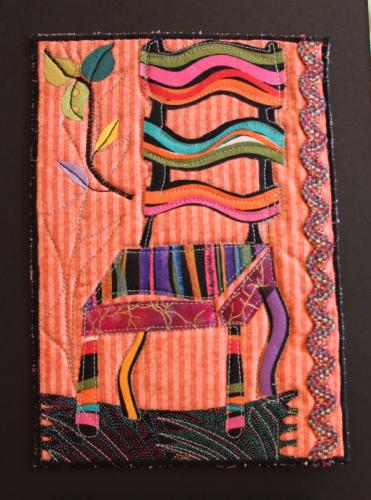 A Chair of Many Colours by Candace Tucker